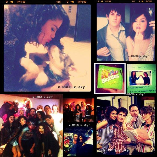 Mardi O1 Novembre : Selena se rend à un RDV à West Hollywood.