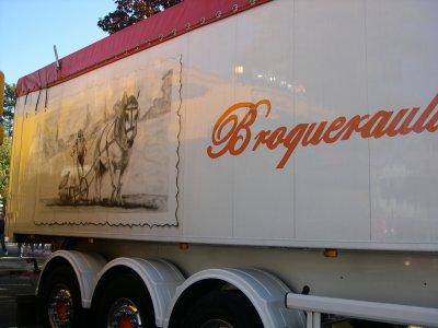 Le camion de jean pierre des transport BROQUERAULT