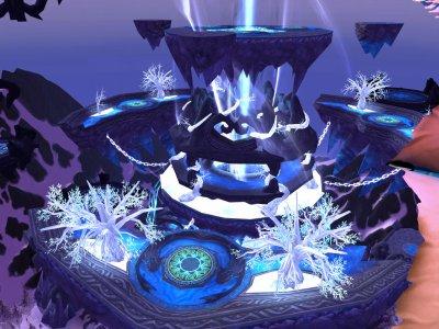 Un joli palais de glace !!