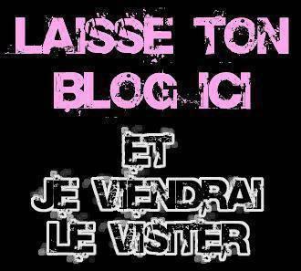 C'est quoi ton blog ?