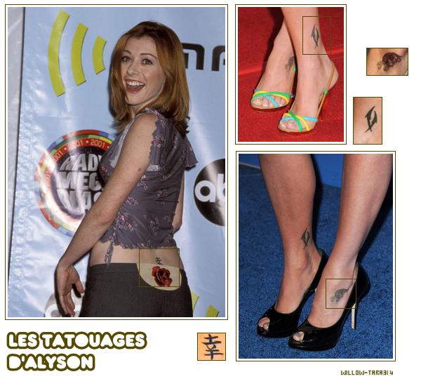 Les tatouages d'Alyson