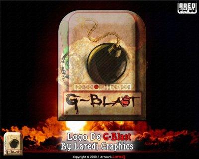 Nouveau  Logo G-blast By Laredj