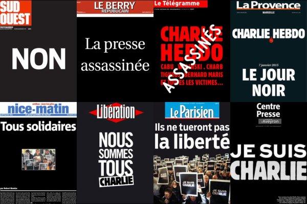 """Hommage et soutien à """"Charlie Hebdo"""""""