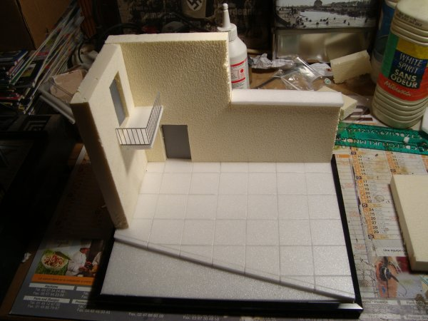 Debut du travail sur mon prochain diorama ( IRAK)