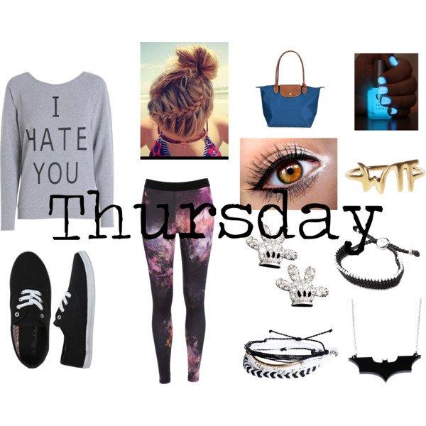Clothes for thursday