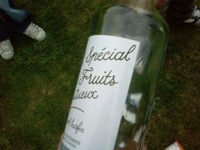 notre premiere bouteille o lycé