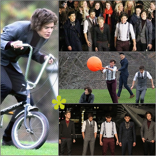 """Tournage de """" One Thing """""""