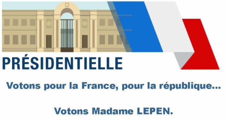 Je vote pour la France, et vous?