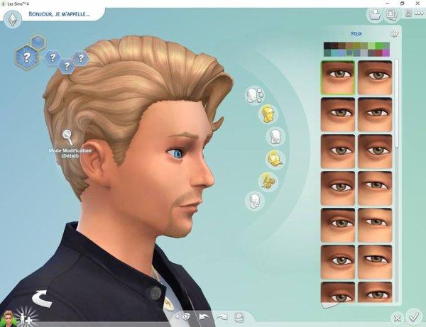 Johnny Hallyday Sims 4
