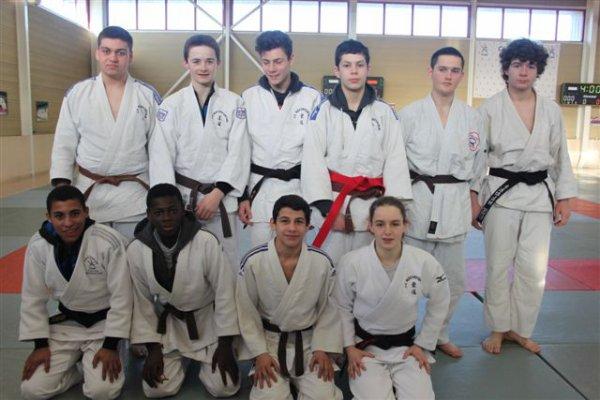 Le 17/12/2014 - Championnat Départemental Cadets à Rochefort.