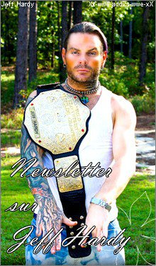 New's de Jeff Hardy    Your source about the Charismatic Enigma