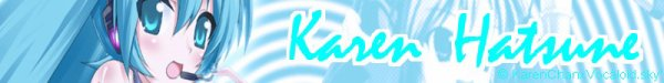 Présentations de: Karen, Luka, Rin, Len, Meiko, Kaito et Lily