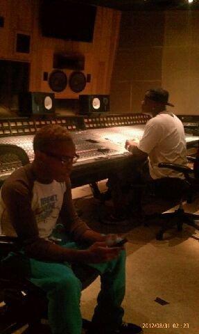 Prodigy au studio <3