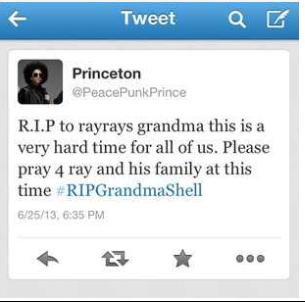 R.I.P Grandma Shell ( RAY RAY 'S GRANDMA)