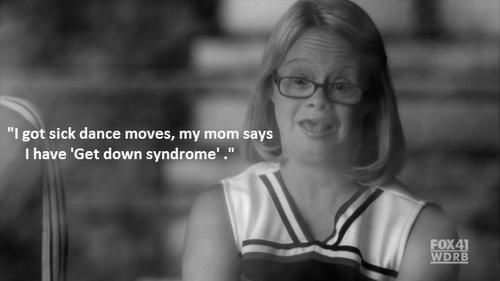 Ouais j'ai un syndrome !  ET ALORS ??? J'suis comme TOI  !