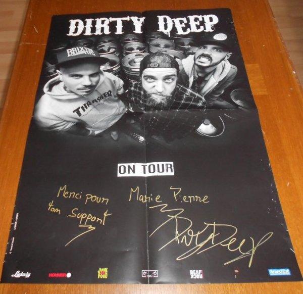 Le groupe Dirty Deep
