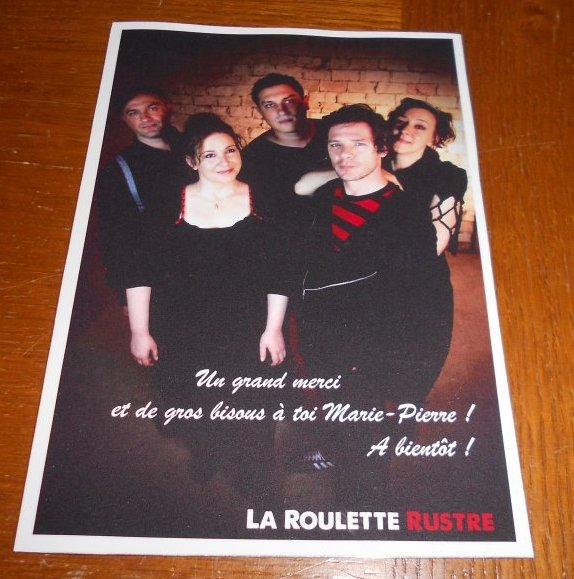 Le groupe La Roulette Rustre