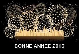 BONNE ANNEE 2016 A TOUS !!