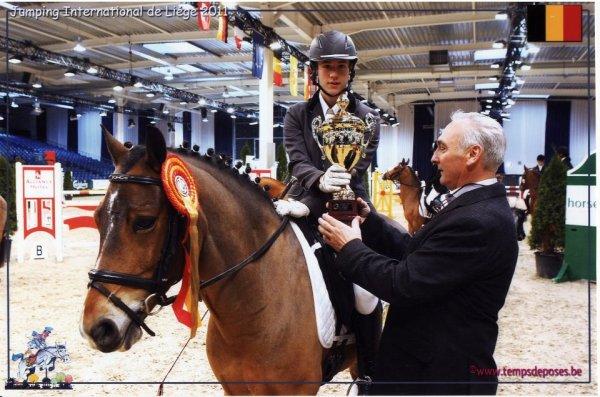 * Resultat de Finale Intergroupement poneys Niveau 0 & 1 à Liège *  Le Jeudi 3 Novembre 2011.