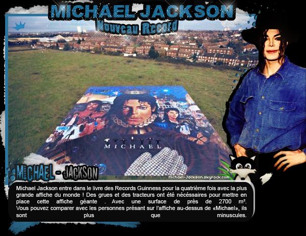News : 11 décembre : Un nouveau record mondial pour Michael Jackson.