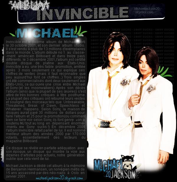 L'album Invincible