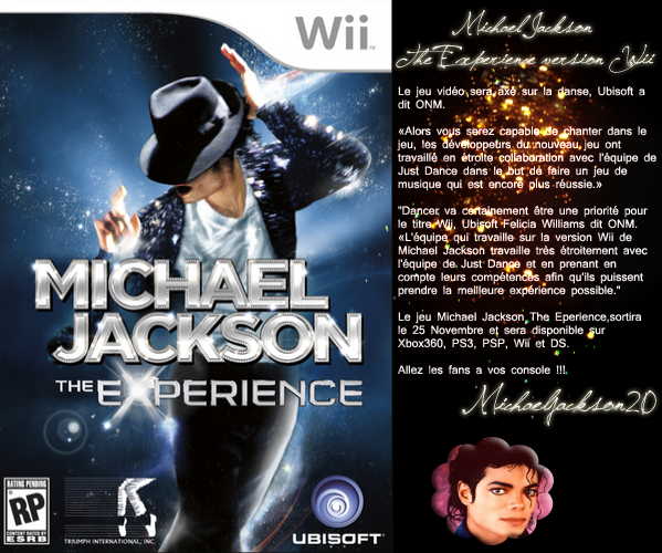Michael Jackson The Experience sur Wii...
