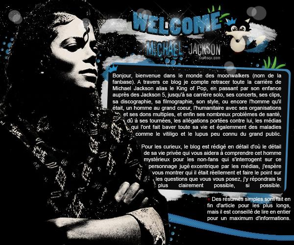 • Bienvenue Sur Michael-Jackson•