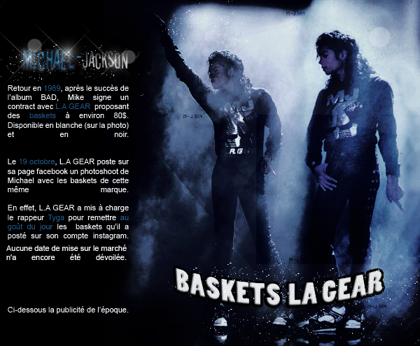 News du 23 octobre 2014 : Le retour des baskets LA GEAR ? + Xscape certifié.