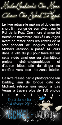 Nouveau livre Michael Jackson's One More Chance: One Week In Vegas