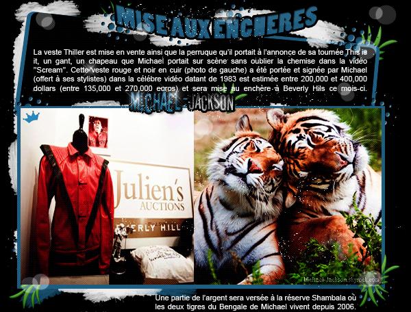 News : Enchères + Nouvelle Extrait et Behind The Mask