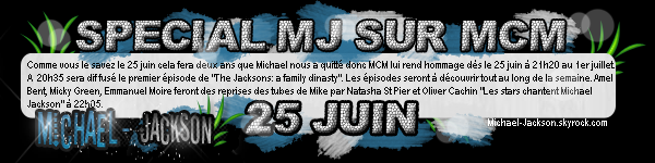 Programme Spécial MJ sur MCM, Nouvel album Instrumental, et le clip officiel de Behind the Mask