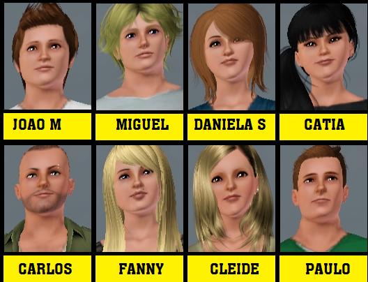 Secret Story Sims 1 : Voici les candidats + sondage vote ilimiter les 3 premiers du sondage auront une suprise