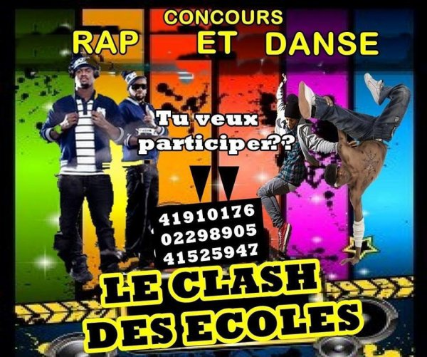 GRAND COMPETITION DE RAP & DE DANSE.