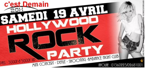 HOLLYWOOD ROCK PARTY