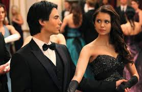 """I'm not sorry that I'm in love with you. I love you Damon "" Elena to Damon"