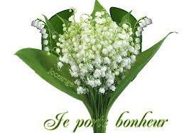Je vous donne un bouquet porte bonheur
