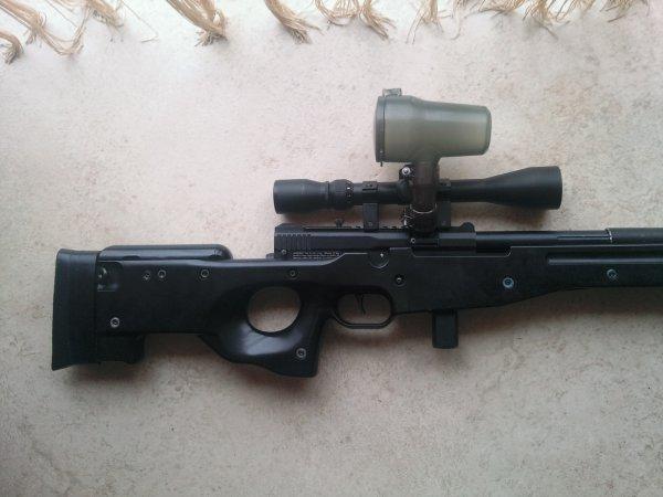Custo à venir...Snipe L96A1