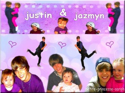 montage de Justin , jazmyn bieber