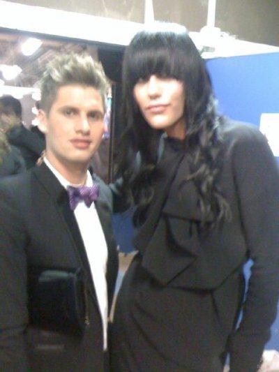 Benoit Thomas et Amélie au NRJ music award