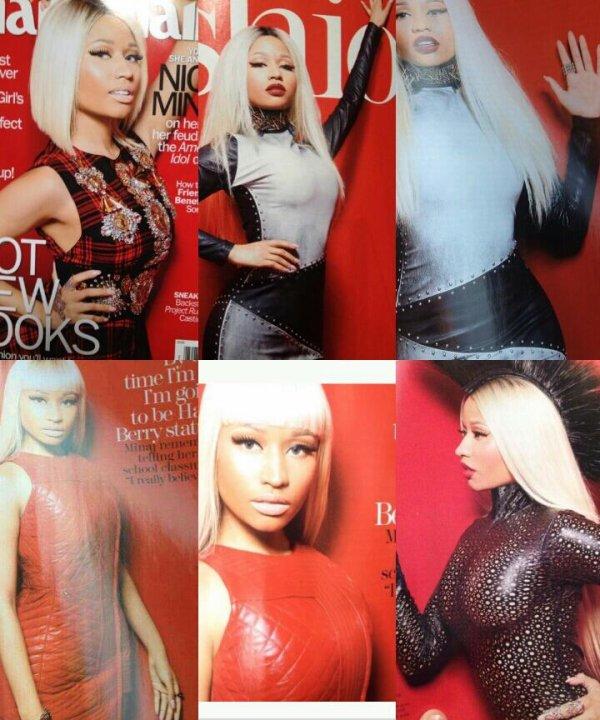 4 juillet 2013 : Nicki Minaj pour le magazine Marie Claire !