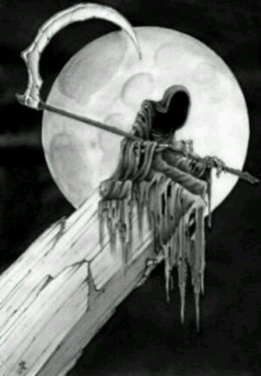 J'ai vue la mort venir te chercher, De sa main bleuté te soulevé. Elle t'a pris la vie, tuant la mienne, mon âme souffre elle est en peine Et mon coeur ne bas plus, ne vit plus, puisque tu as disparu.