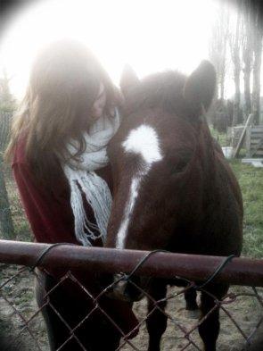Quand vous êtes à cheval, vous êtes entre le ciel et la terre à une hauteur qui n'existe pas.