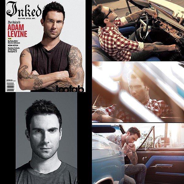 """* 3 Août 2012 // Candids Photoshoot // Nouveau photoshoot et interview pour """"Inked""""  *"""