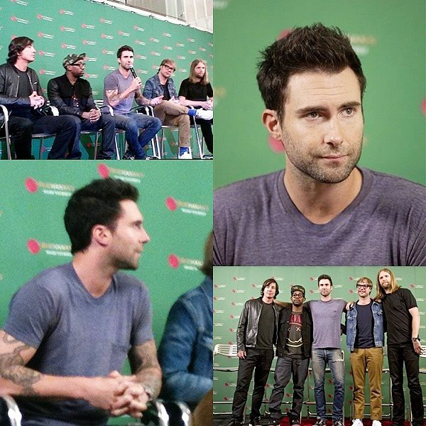 . 16 Août 2012 // Performances // Maroon 5 performant  encore à Mexico  .