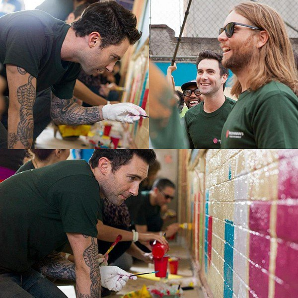 * 25 Août 2012 // Performances  // Maroon 5 performant au Curitiba au Brazil   *