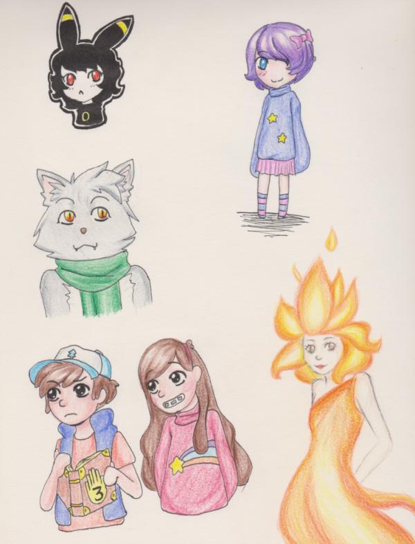 Les dessins contre l'ennui