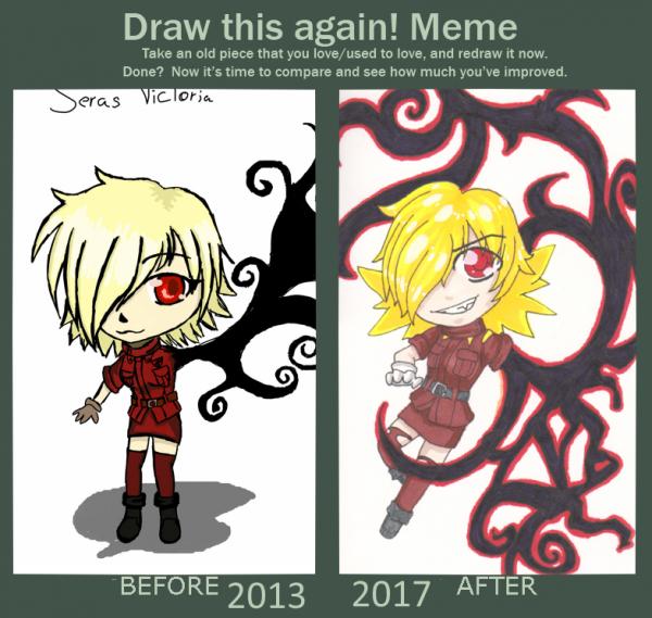 Draw this Again - Victoria Seras