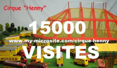 15 000 Visites www.my-microsite.com/cirque-henny