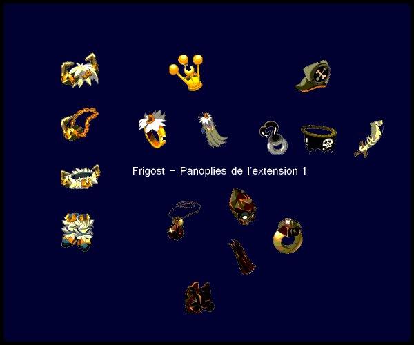 Frigost V - Les nouvelles panoplies