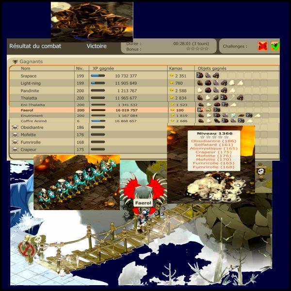 Frigost III.3.5 - Les Monstres & Donjons - L'Hypogée de l'Obsidiantre et les Larmes d'Ouronigride